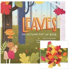 Other - NWT Autumn Leaves POP Up Hardcover Book